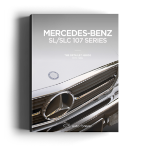 Mercedes SL SLC 107 series Detailed Guide Cover
